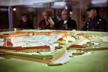 Stadtmuseum Modell der Stadt Germersheim